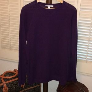 Autumn Cashmere Purple cashmere Sweater M